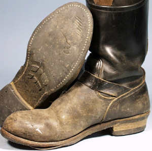 Worn Red Wing Boots